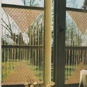 CROCHET : rideaux à fils Pornic TUTORIEL GRATUIT - Le blog de crochet et tricot d'art de Suzelle