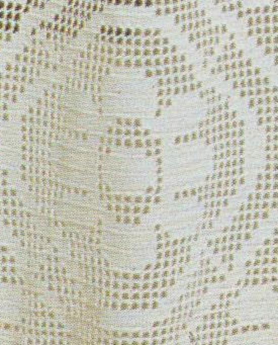 Un motif de fleur stylisé