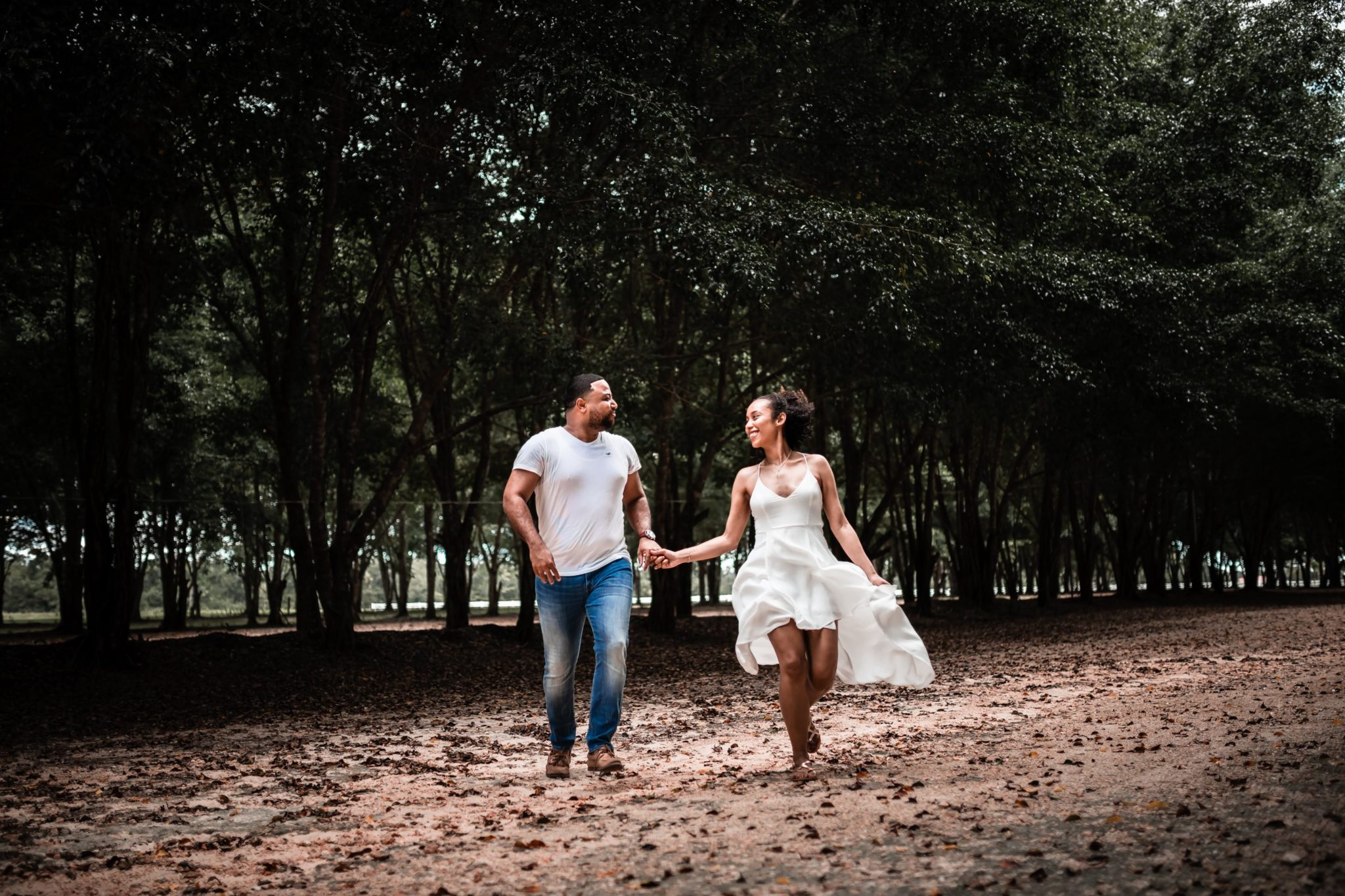 JASON+ASHLEY-Save the date photo shoot in Spanish Lookout