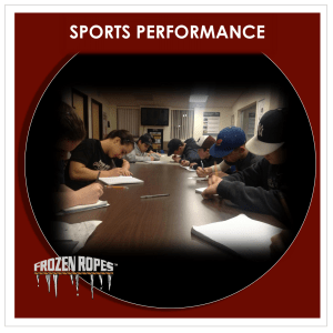 Frozen Ropes Sports Performance