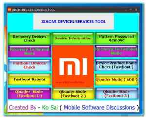 Xiaomi service tool download