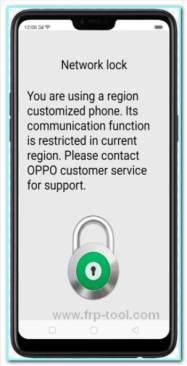 Oppo Network Unlock Tool.