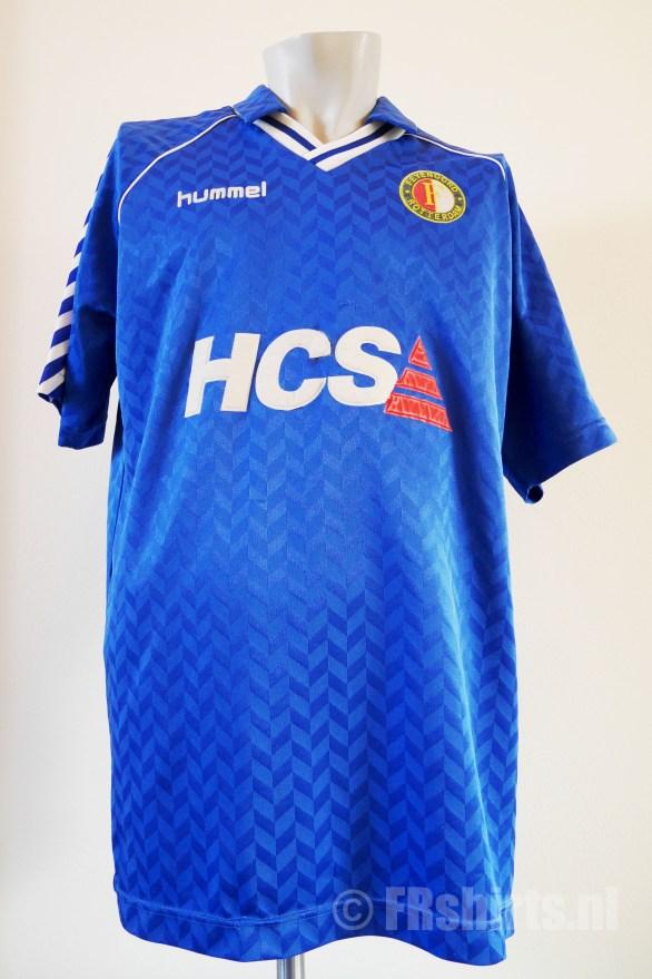 1989-1991 Uitshirt Blauw