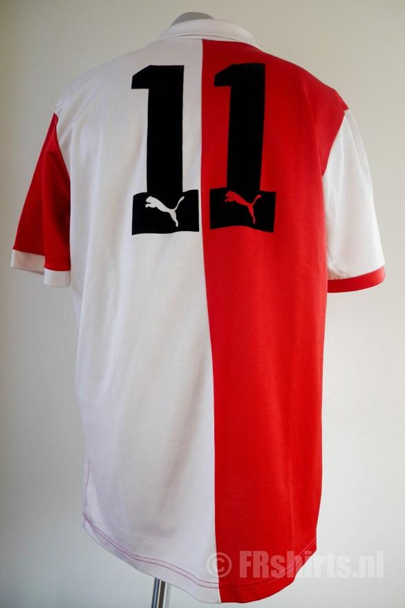 1984-1985 Thuisshirt Achterkant