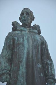 Standbeeld Roald Amundsen in Tromsø