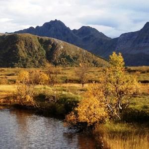 Herfst op de Lofoten