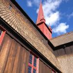 Staafkerk Ringebu, Olavspad, Noorwegen, Fru Amundsen
