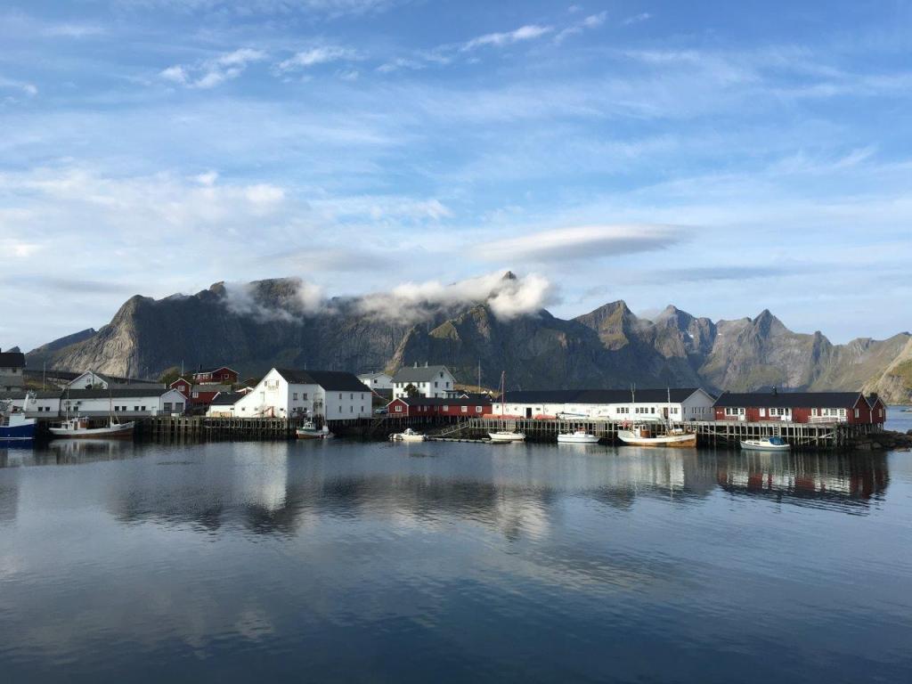 Hamnøy, Lofoten, Noorwegen, Fru Amundsen