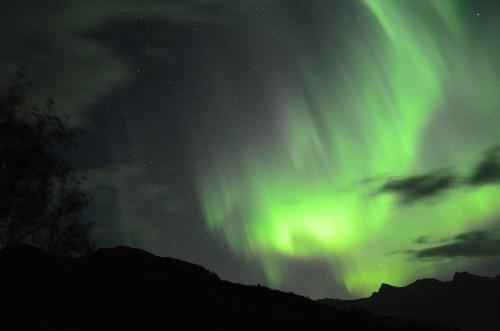 Noorderlicht op de Lofoten Foto: Fru Amundsen ©
