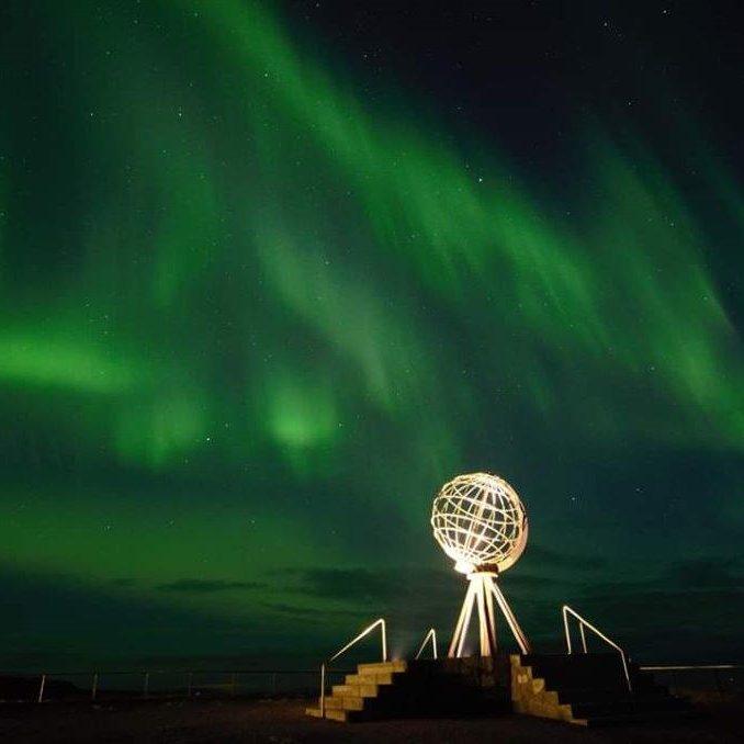 noorderlicht Noordkaap