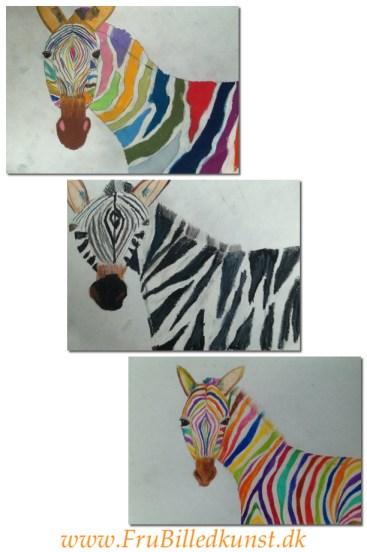 Zebra u baggrund