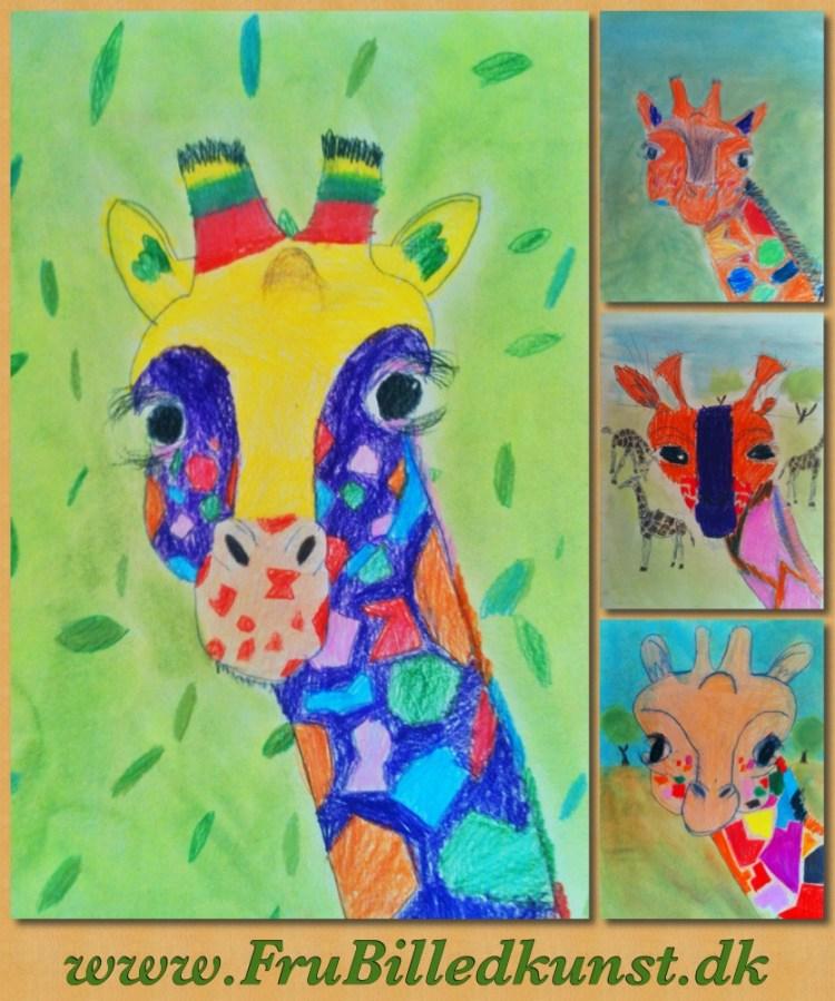 www.FruBilledkunst.dk - giraffer - 2kl (1)