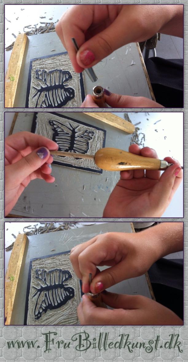 www.FruBilledkunst.dk linoleumsknive