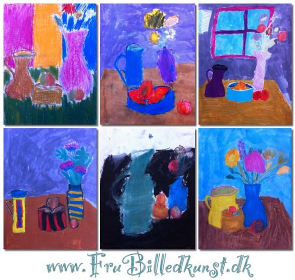 www.FruBilledkunst.dk - Still life 3rd grade