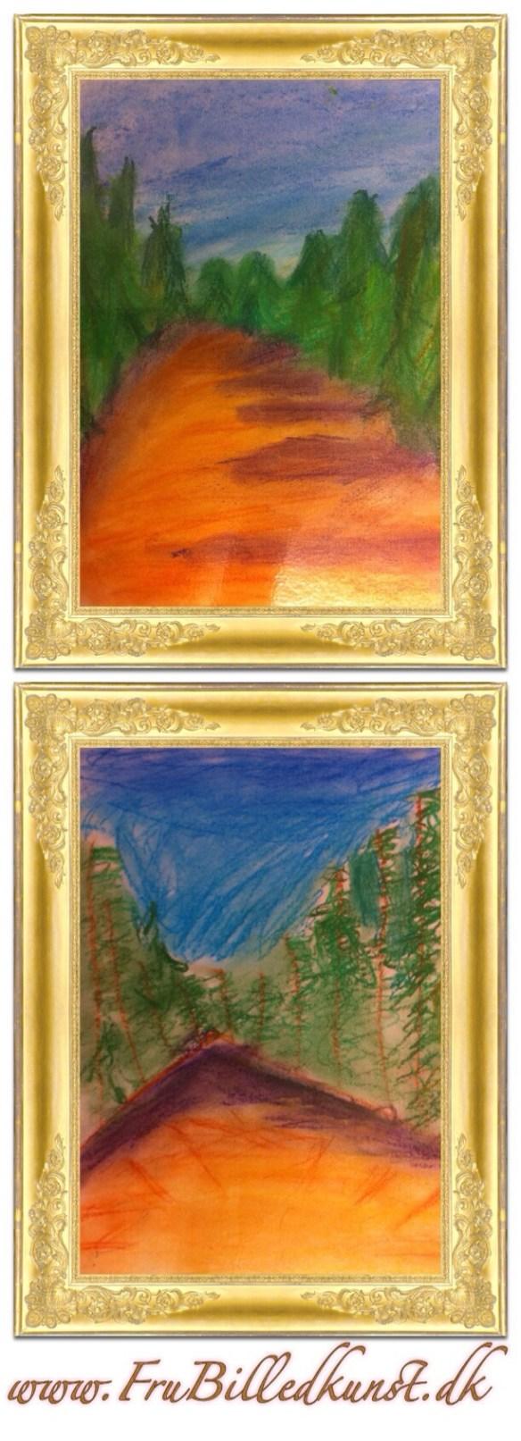 www.frubilledkunst.dk - pastel - 4th grade
