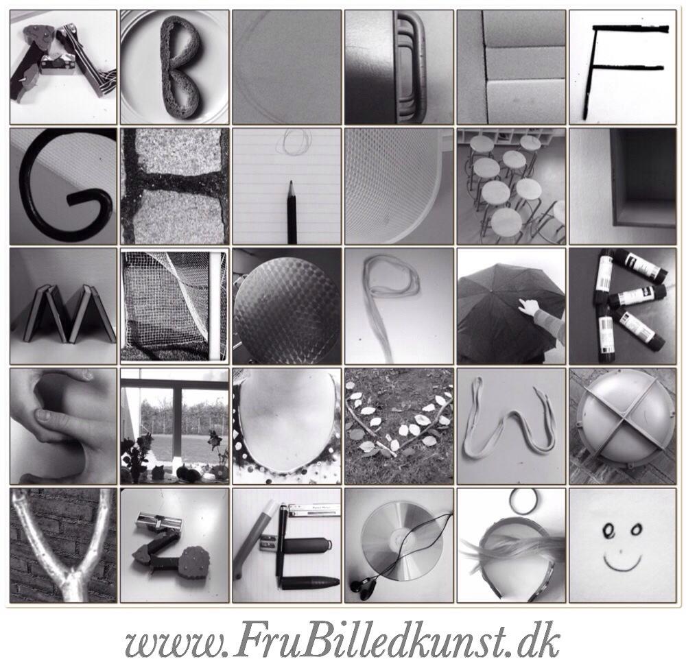 www.FruBilledkunst.dk - fotoalfabetet - danish photo alphabet