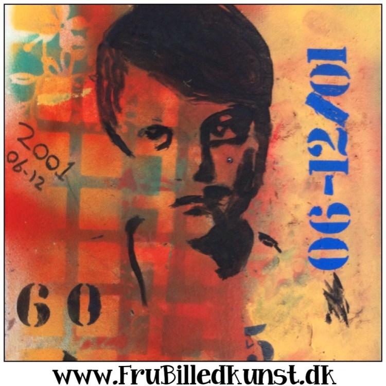 www.FruBilledkunst.dk - moderne selvportrætter