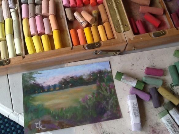 Tina Kejlberg (FruBilledkunst) - pastelmaleri