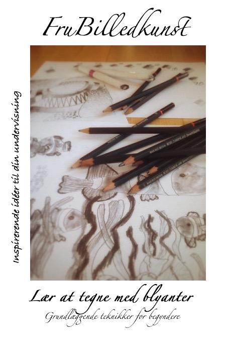 Lær at tegne med blyanter - forside