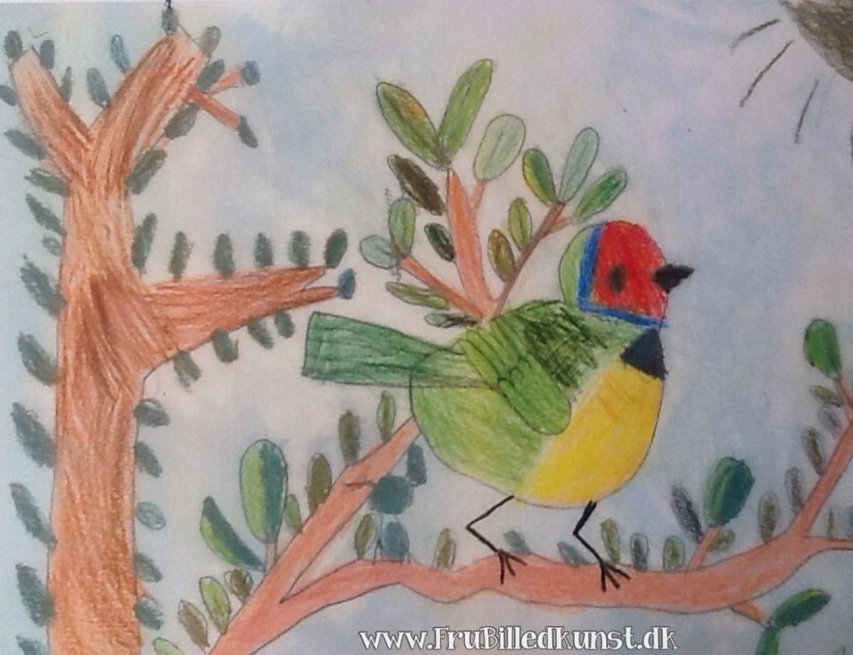 www.FruBilledkunst.dk - first bird