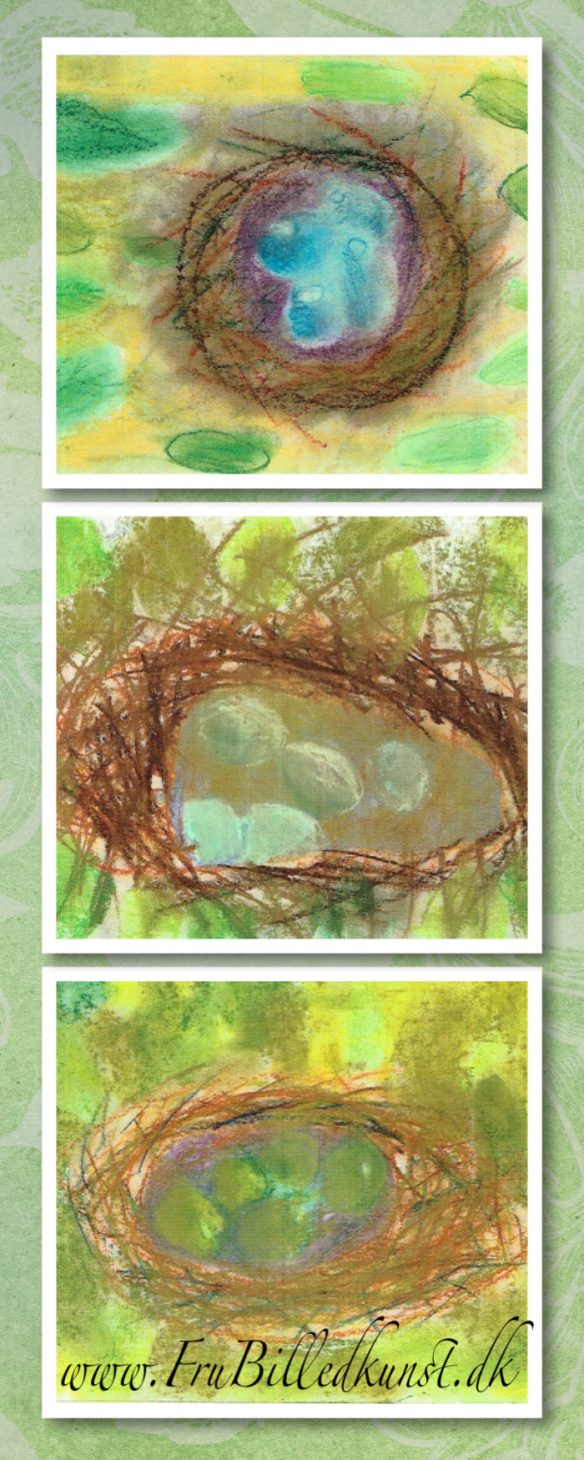 www.FruBilledkunst.dk - nest 1st grade