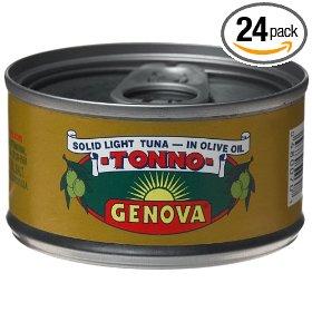 075 Genova Tonno Tuna in Olive Oil Frugal Bon