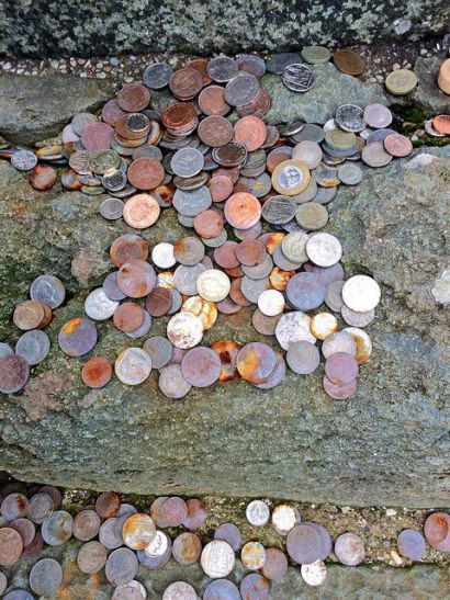 pennies for luck