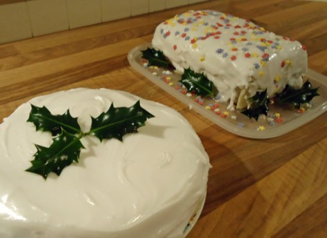 cakes - frugal christmas recipes
