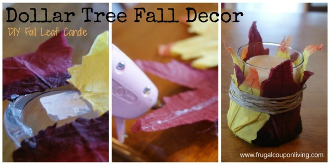 Dollar Tree Fall Decor Frugal Coupon Living