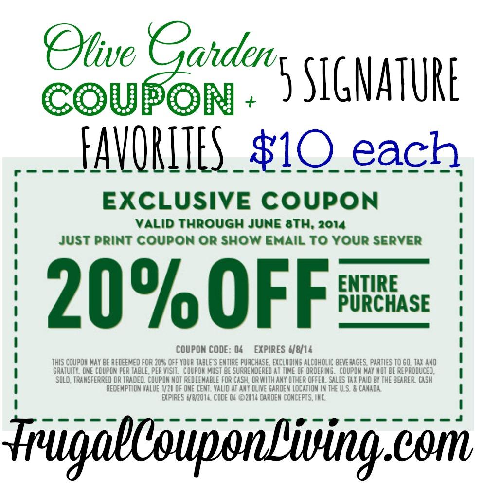Image Result For Olive Garden Coupon