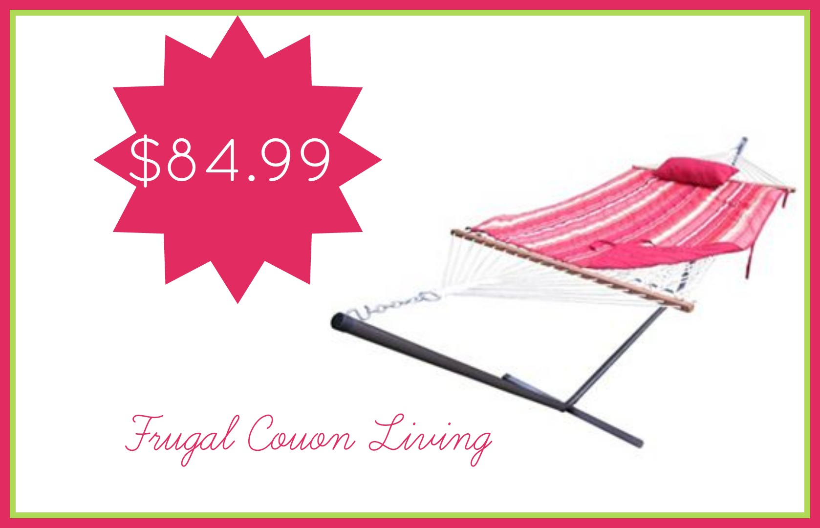 Sonoma Hammock And Stand Only 84 99