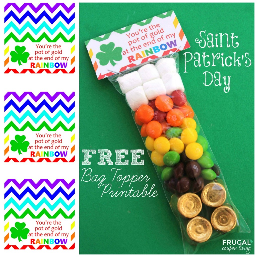 Free St Patrick S Day Bag Topper Printable