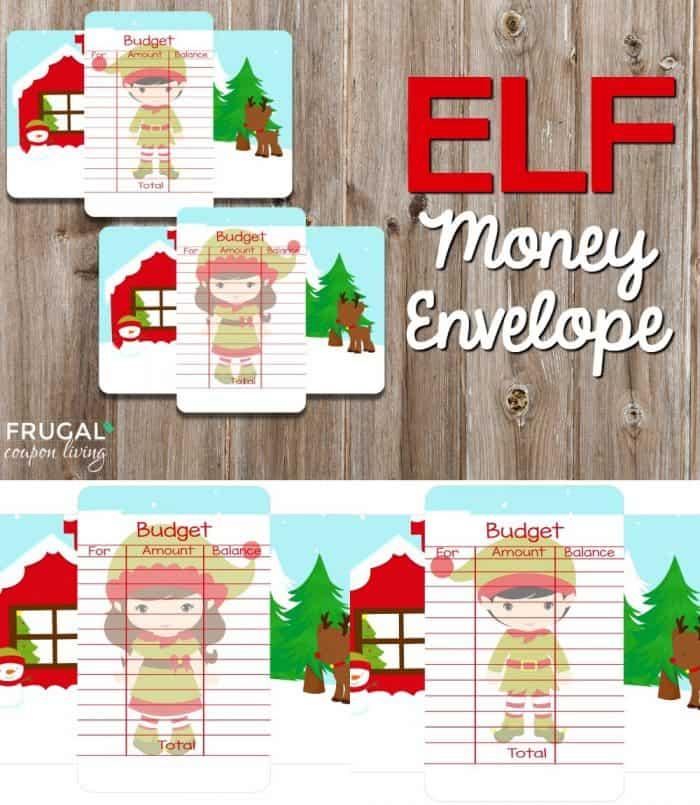 Elf On The Shelf Ideas Elf Money Envelope Printable