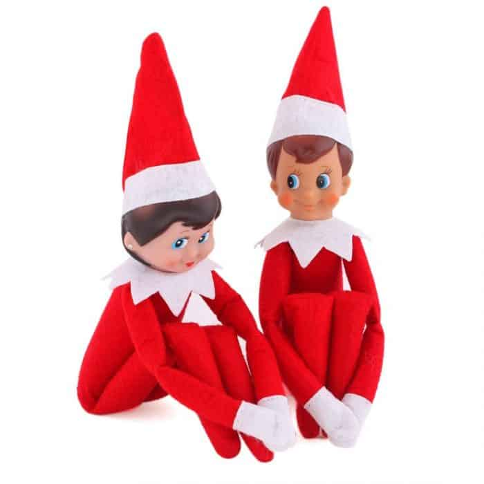 Boy And Girl Elf On The Shelf Dolls 650 Shipped