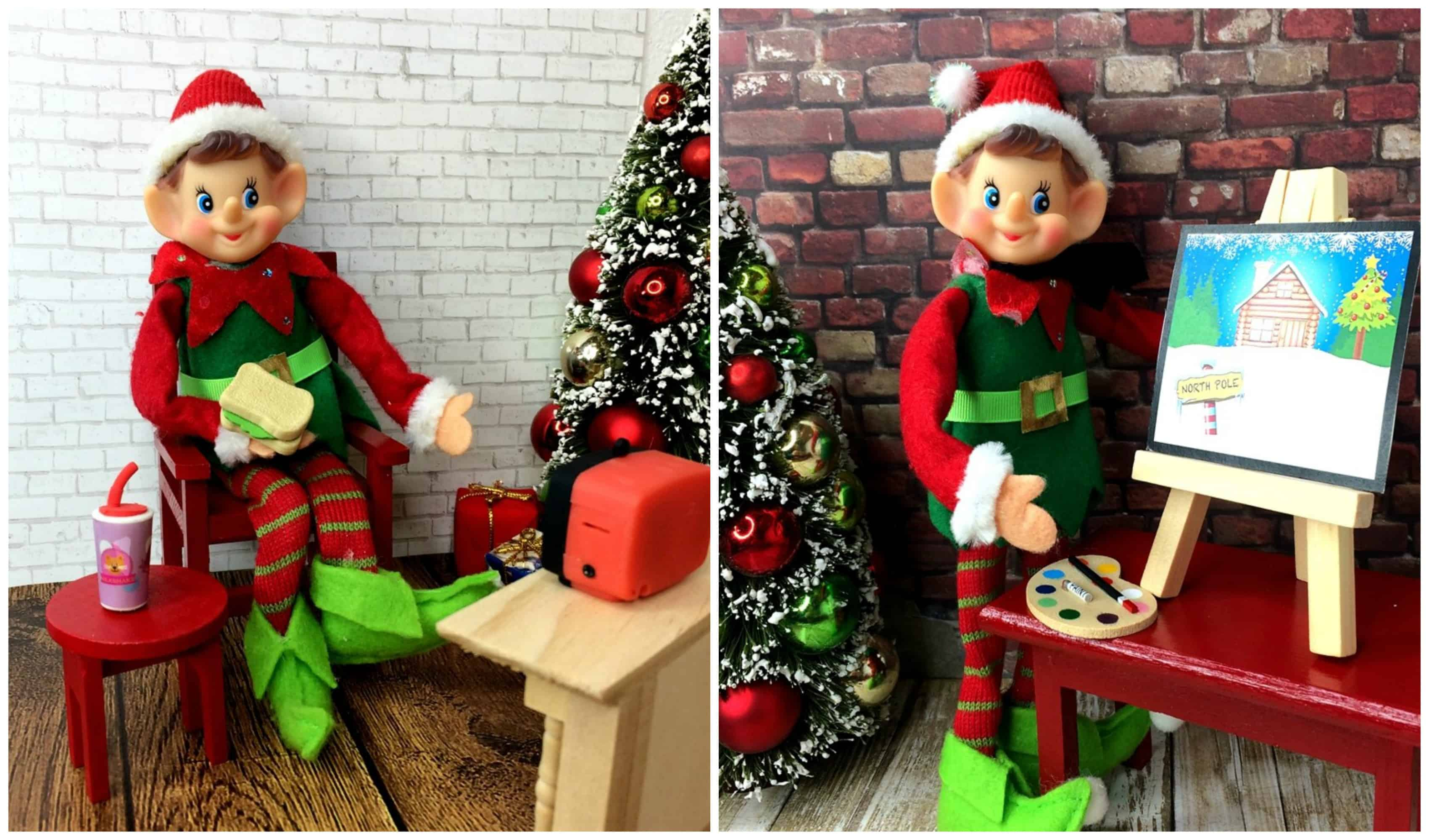 Elf On The Shelf Props For 8 99