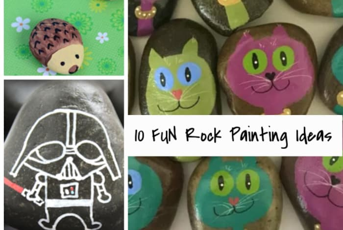 10 Rock Painting Ideas…