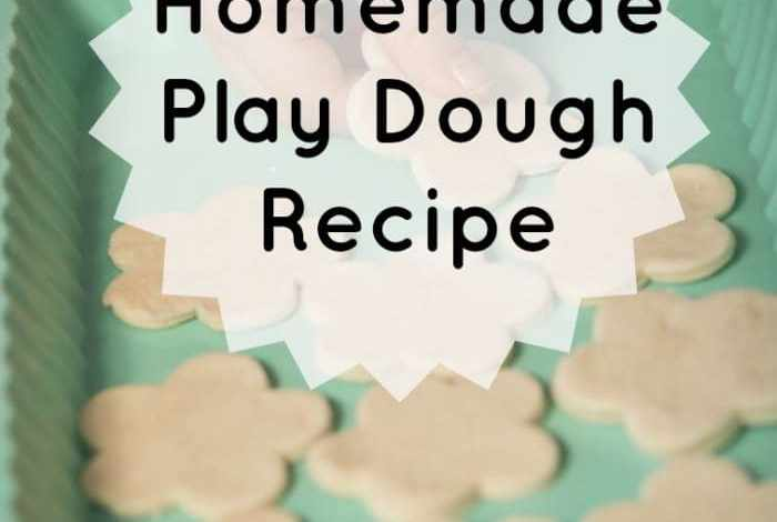 Recipe for home made play dough….