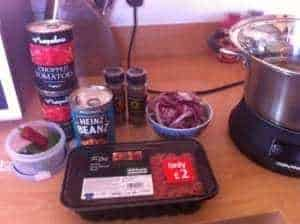 Family Friendly, Frugal Meals – Chilli….