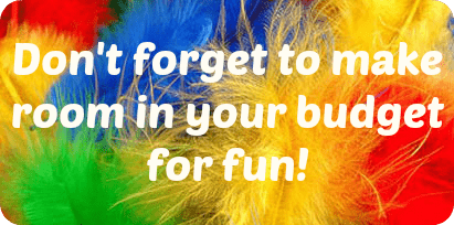 How we make room in our budget for fun….