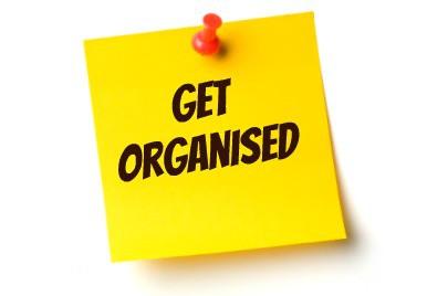 Get Organised – the fridge door edition….