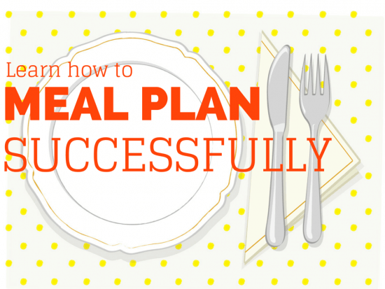 Learn how to meal plan