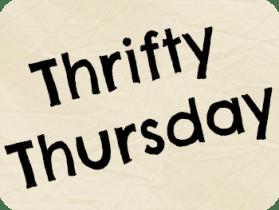 thrifty thursday