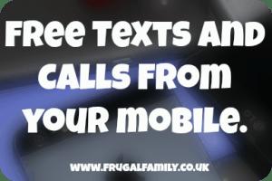 free text calls