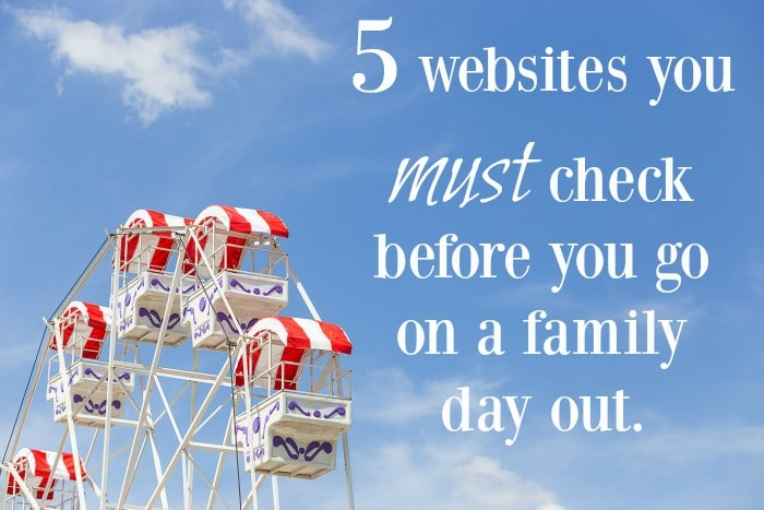 5 websites you must check before you go on a family day out.
