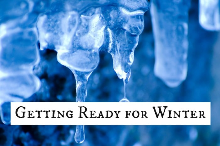 Make sure that you're fully prepared for Winter….