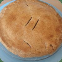 Corned beef and potato pie
