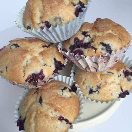 Amazing Blueberry and Lemon Muffins....