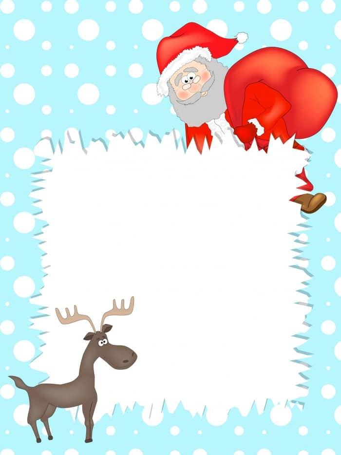 Free Printables Letter to Santa templates and how to get a reply – Santa Templates Free