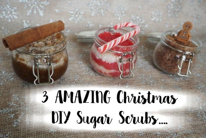 3 AMAZING Christmas DIY Sugar Scrubs….