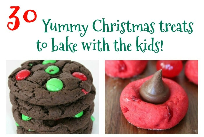 30 Yummy Christmas treats to make with the kids….
